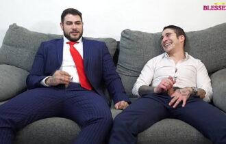 Porno com jovens amigos fazendo sexo gay caiu na net